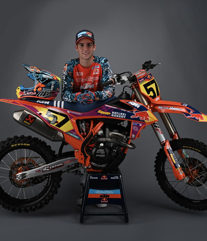 KTM UNVEILS 2021 KTM 250 SX-F TROY LEE DESIGNS MOTOCROSS MACHINE