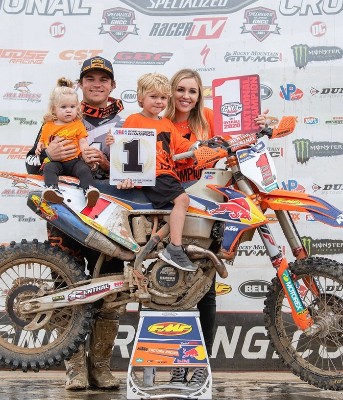 KAILUB RUSSELL CLINCHES EIGHTH-CONSECUTIVE GNCC TITLE