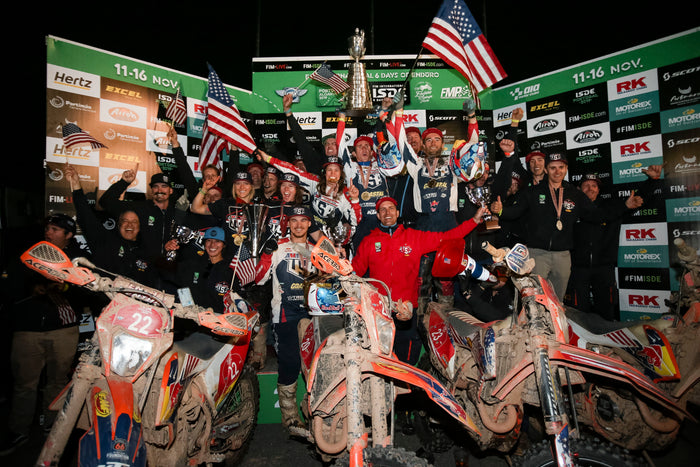 Team USA Claims the 106th ISDE World Trophy Title