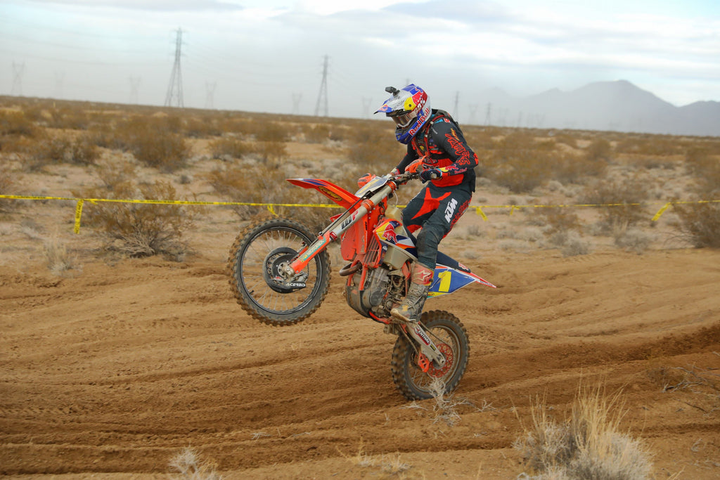 Taylor Robert on his way to victory in Nevada WORCS