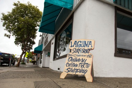 Laguna Surf and Sport offers the same guarantees as always