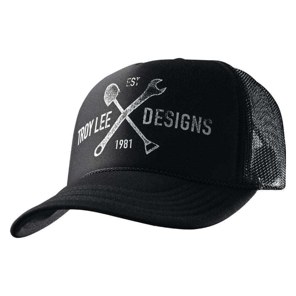 SNAPBACK HAT TRAIL BLACK