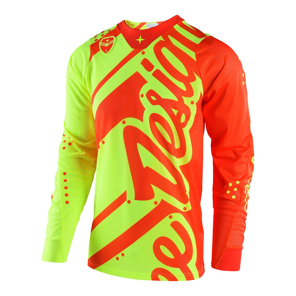 SE AIR JERSEY SHADOW FLO YELLOW / ORANGE