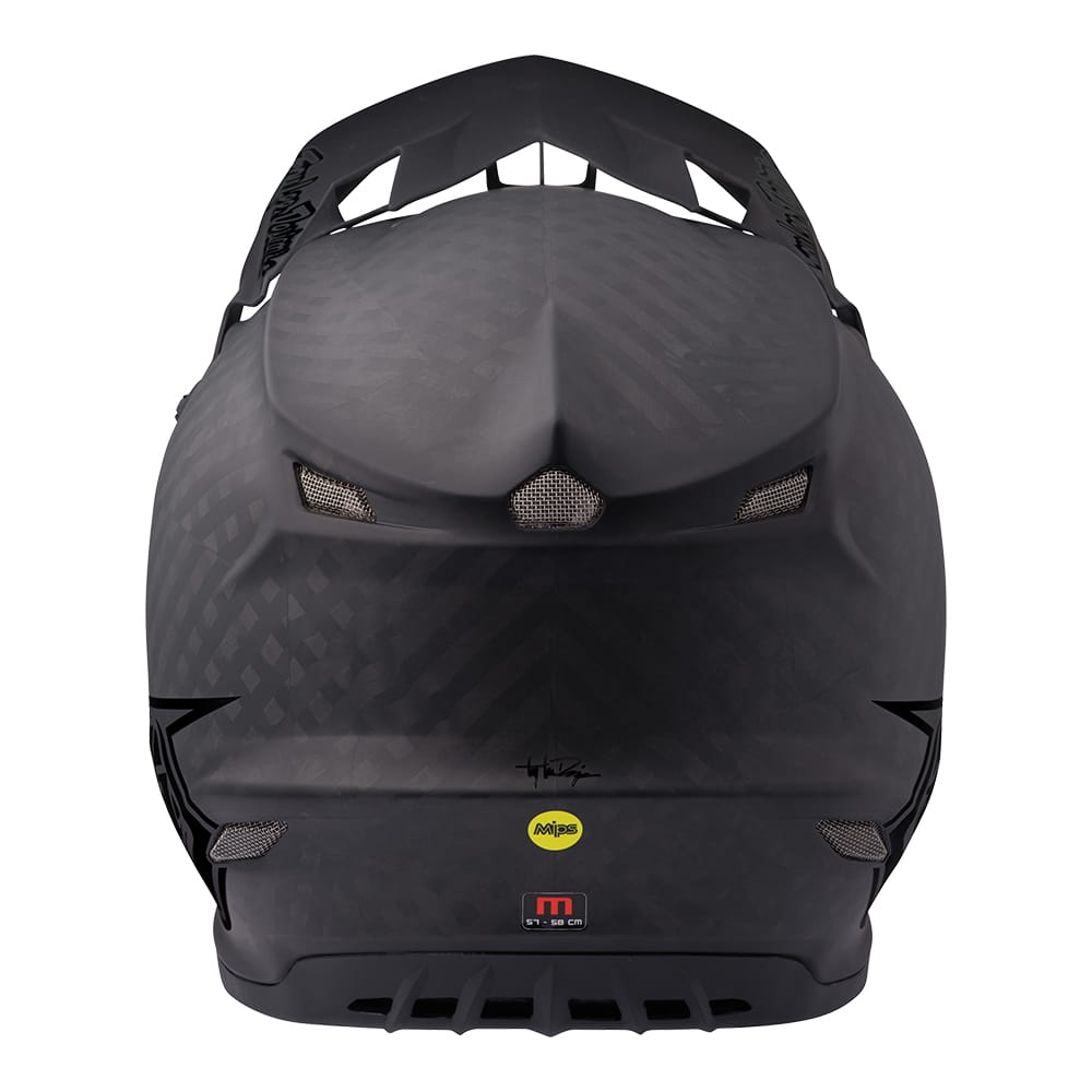 SE4 CARBON HELMET W/MIPS MIDNIGHT BLACK