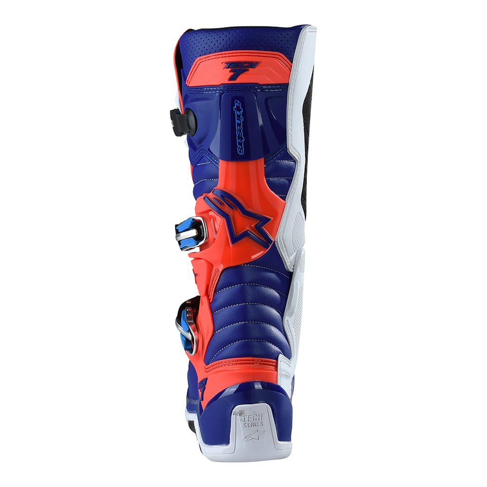 ALPINESTAR BOOTS TECH 7 FLO RED / BLUE