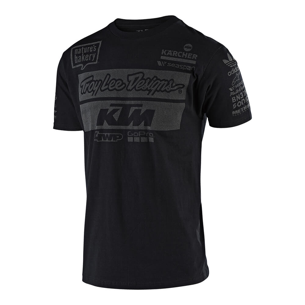 SHORT SLEEVE TEE 2019 TLD KTM TEAM BLACK
