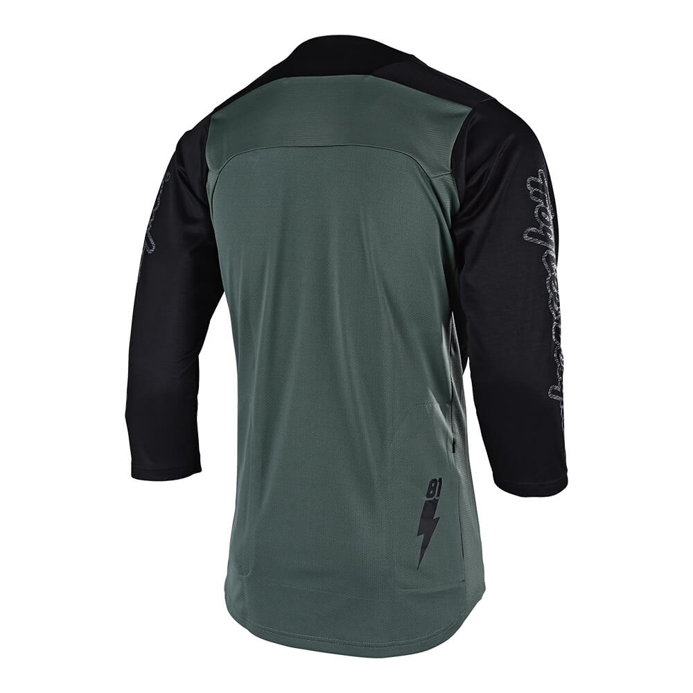 RUCKUS JERSEY BOLT FATIGUE GREEN / BLACK