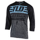 RUCKUS JERSEY BOLT HEATHER BLUE GRAY / BLACK