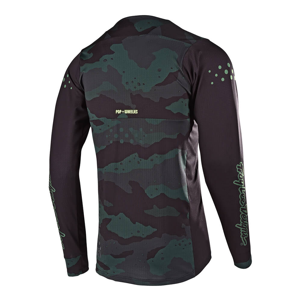 SKYLINE AIR LS JERSEY SPEEDSHOP STEALTH CAMO / BLACK