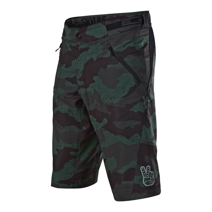 SKYLINE SHORT W/LINER CAMO STEALTH
