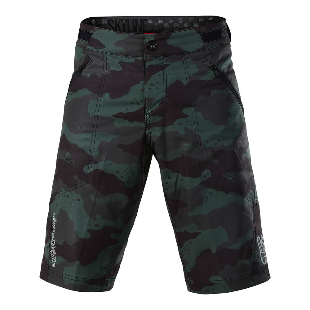 SKYLINE SHORT SHELL CAMO STEALTH