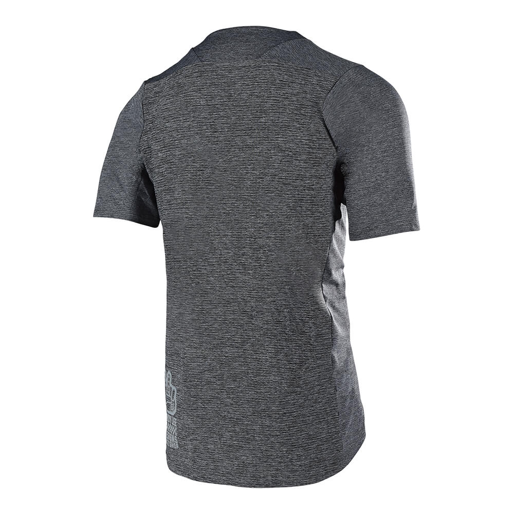 SKYLINE SS JERSEY SOLID HEATHER GRAY