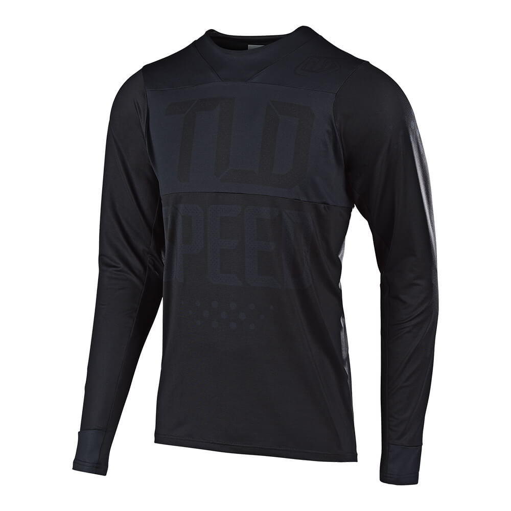 SKYLINE LS JERSEY SPEEDSHOP BLACK / BLACK