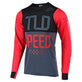 SKYLINE LS JERSEY SPEEDSHOP RED / BLACK