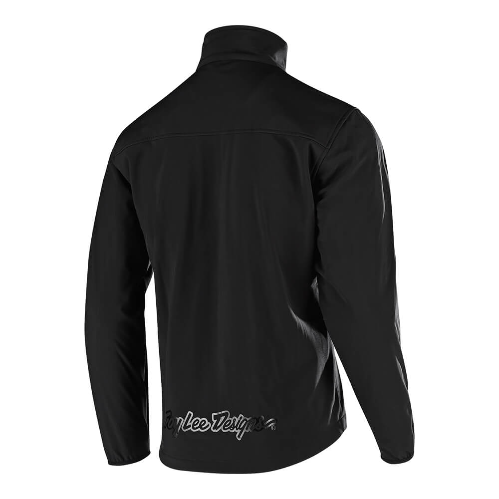 TECH JACKET SOLID BLACK