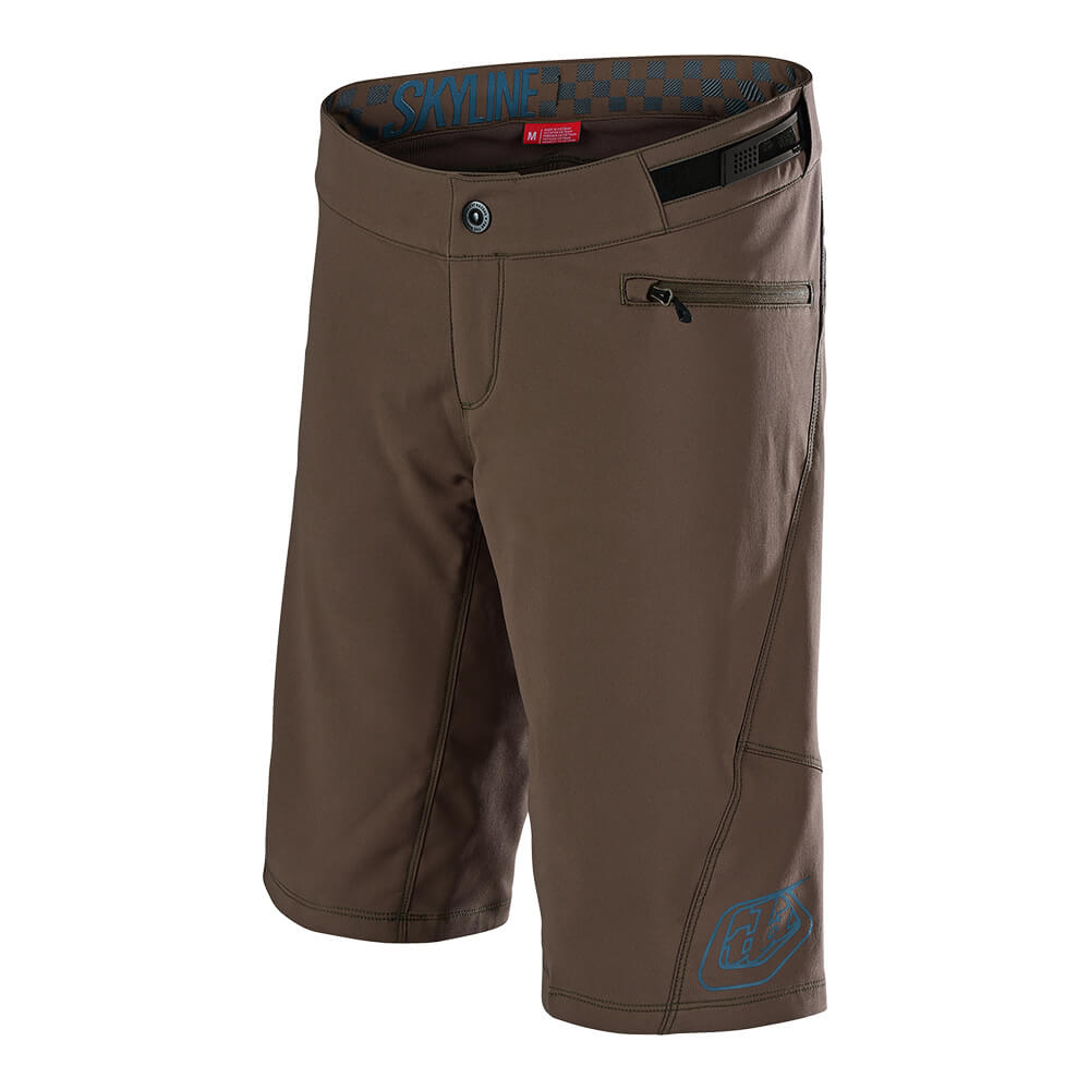 WOMENS SKYLINE SHORT SHELL SOLID MOKA / CORSAIR