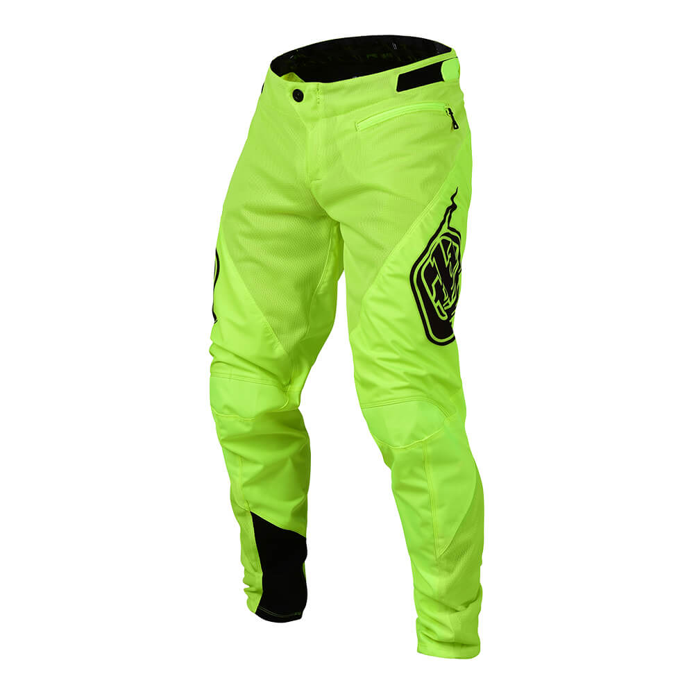 YOUTH SPRINT PANT SOLID FLO YELLOW