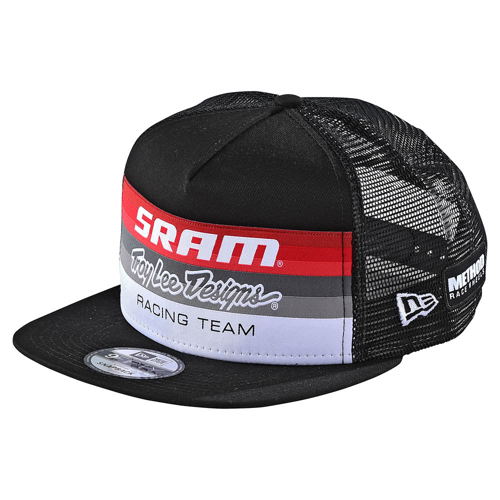 SNAPBACK HAT SRAM RACING BLOCK BLACK