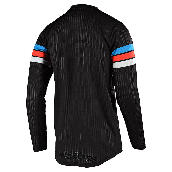 GP AIR JERSEY SADDLEBACK BLACK / CYAN