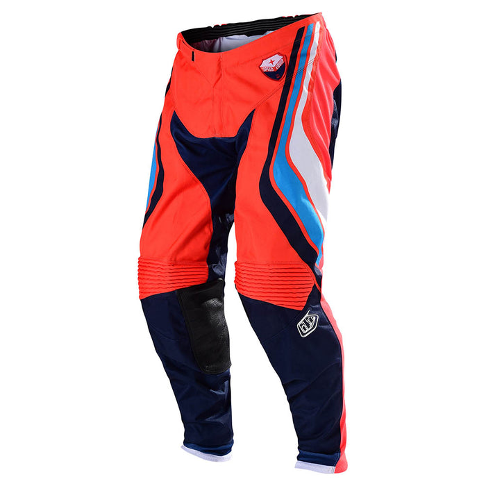 SE PANT SECA ORANGE / DARK NAVY