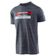 SHORT SLEEVE TEE SRAM RACING BLOCK VINTAGE GRAY SNOW