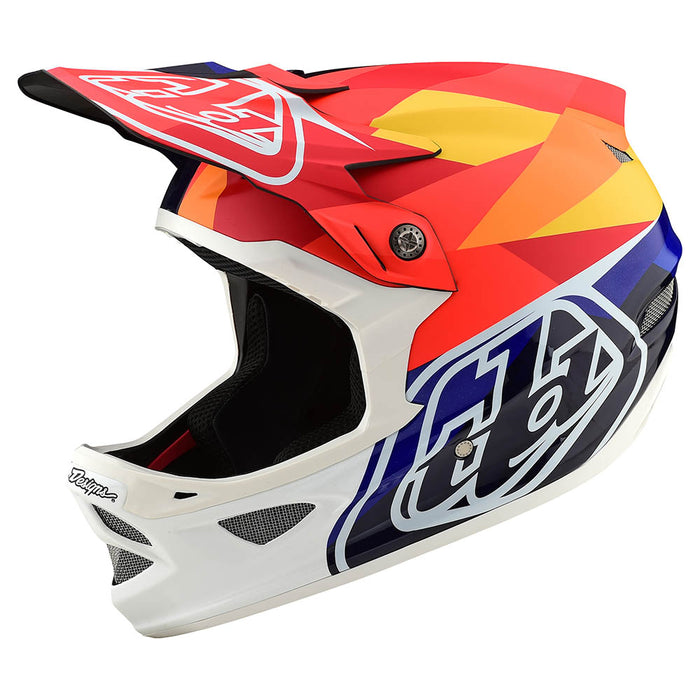 D3 CARBON HELMET W/MIPS JET ORANGE / NAVY
