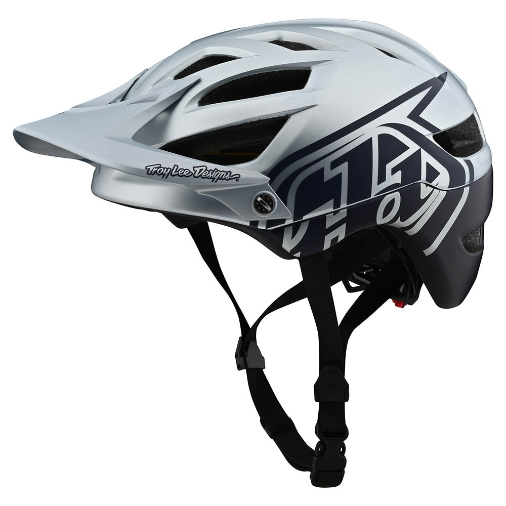 A1 HELMET W/MIPS CLASSIC SILVER / NAVY