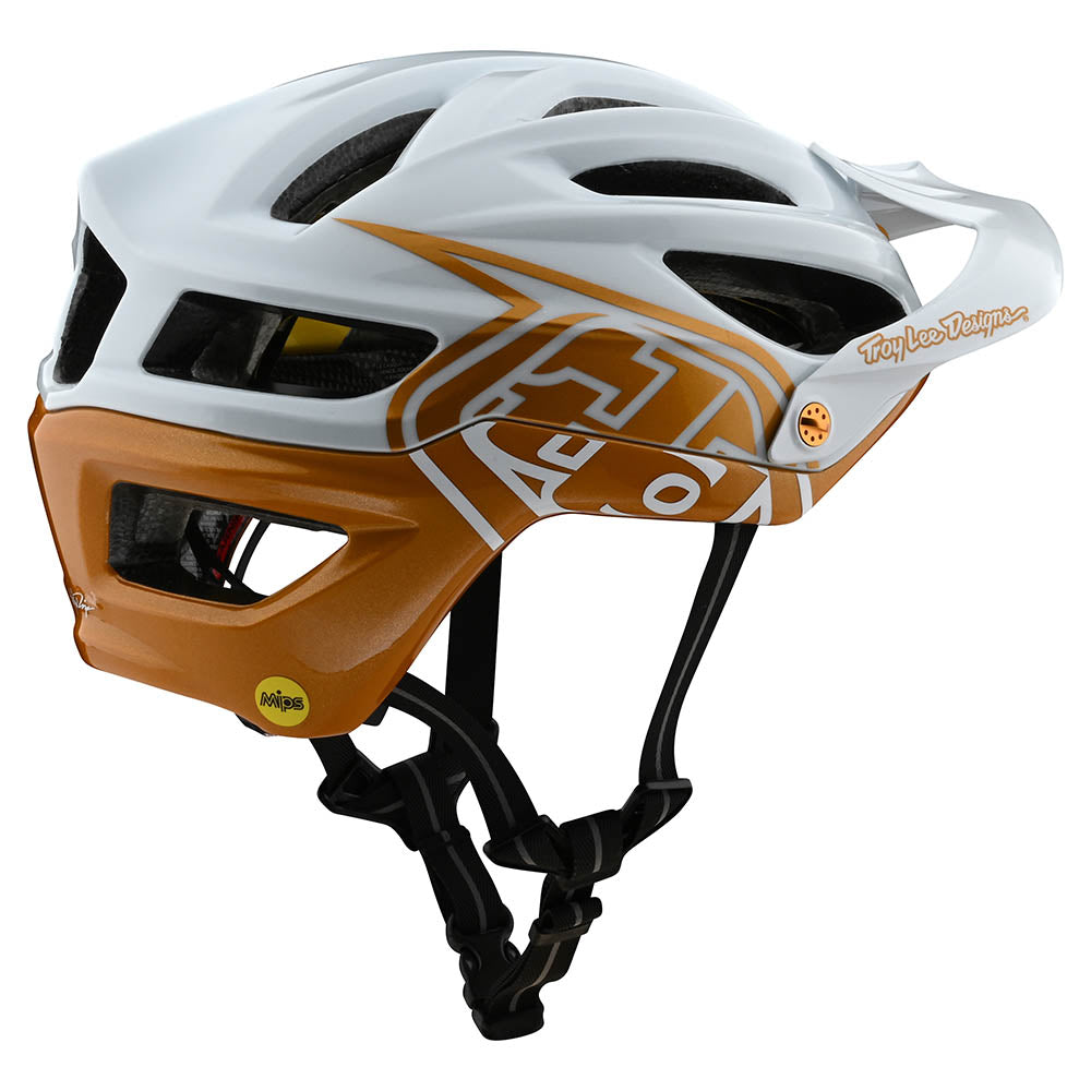 A2 HELMETS W/MIPS DECOY PEARL WHITE / GOLD