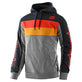 PULLOVER HOODIE BLOCK SIGNATURE GRAY HEATHER / ORANGE