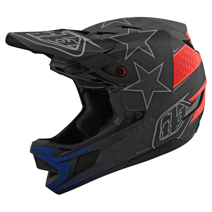D4 CARBON HELMET W/MIPS FREEDOM 2.0 BLACK / RED