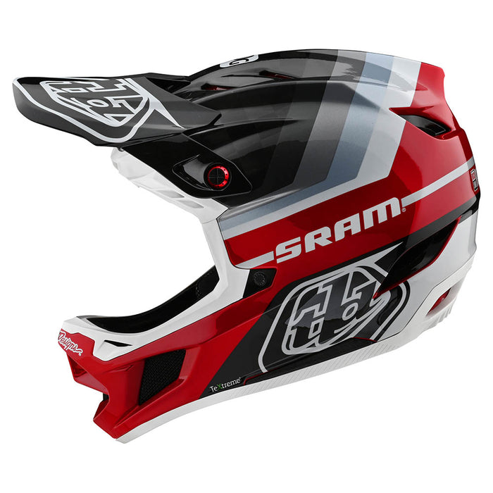 D4 CARBON HELMET W/MIPS MIRAGE SRAM BLACK / RED