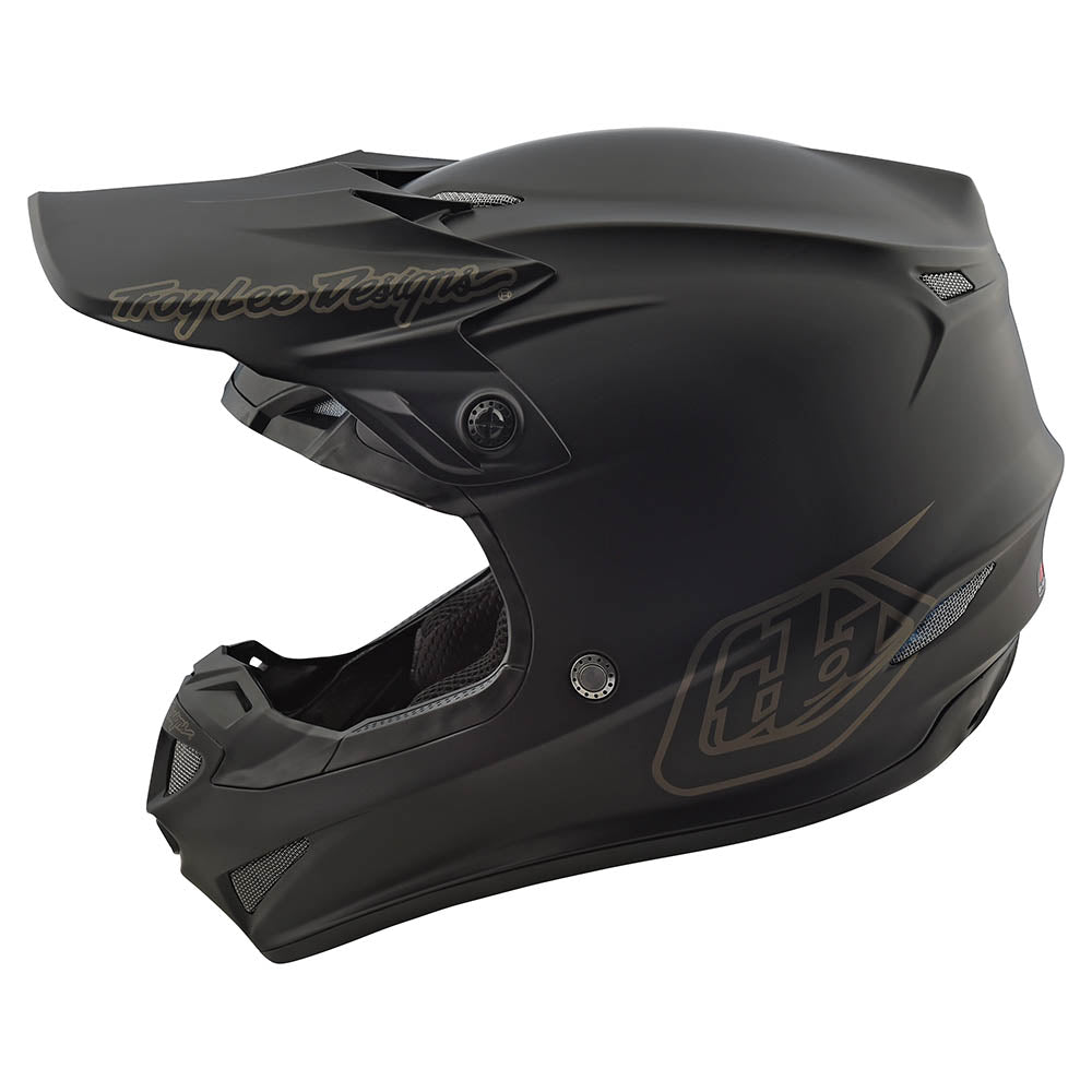 YOUTH GP HELMET MONO BLACK
