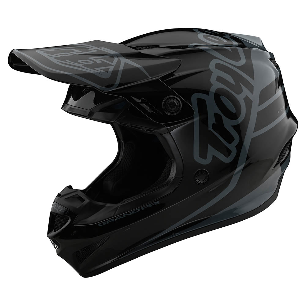 GP HELMET SILHOUETTE BLACK / GRAY