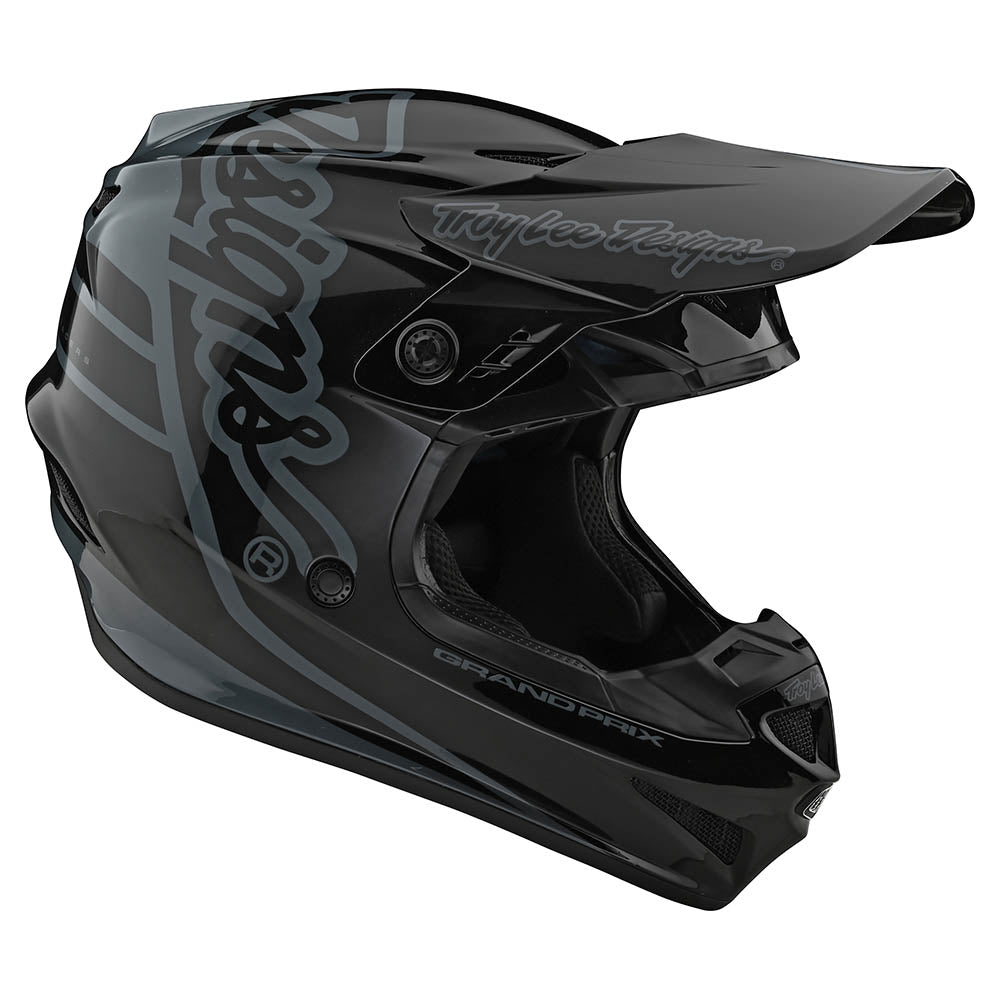 YOUTH GP HELMET NO MIPS SILHOUETTE BLACK / GRAY