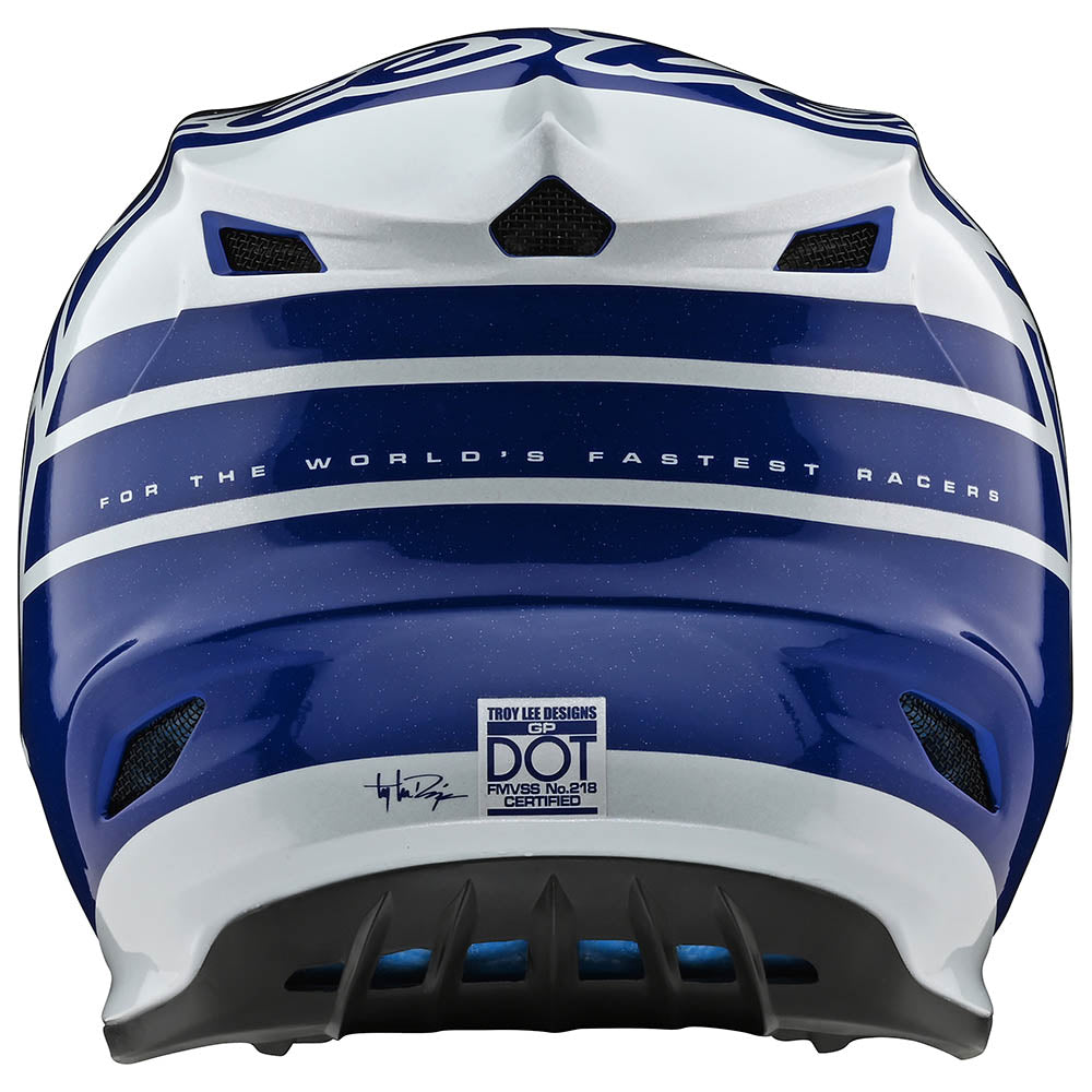 YOUTH GP HELMET SILHOUETTE NAVY / WHITE