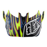 D4 VISOR EYEBALL FLO YELLOW