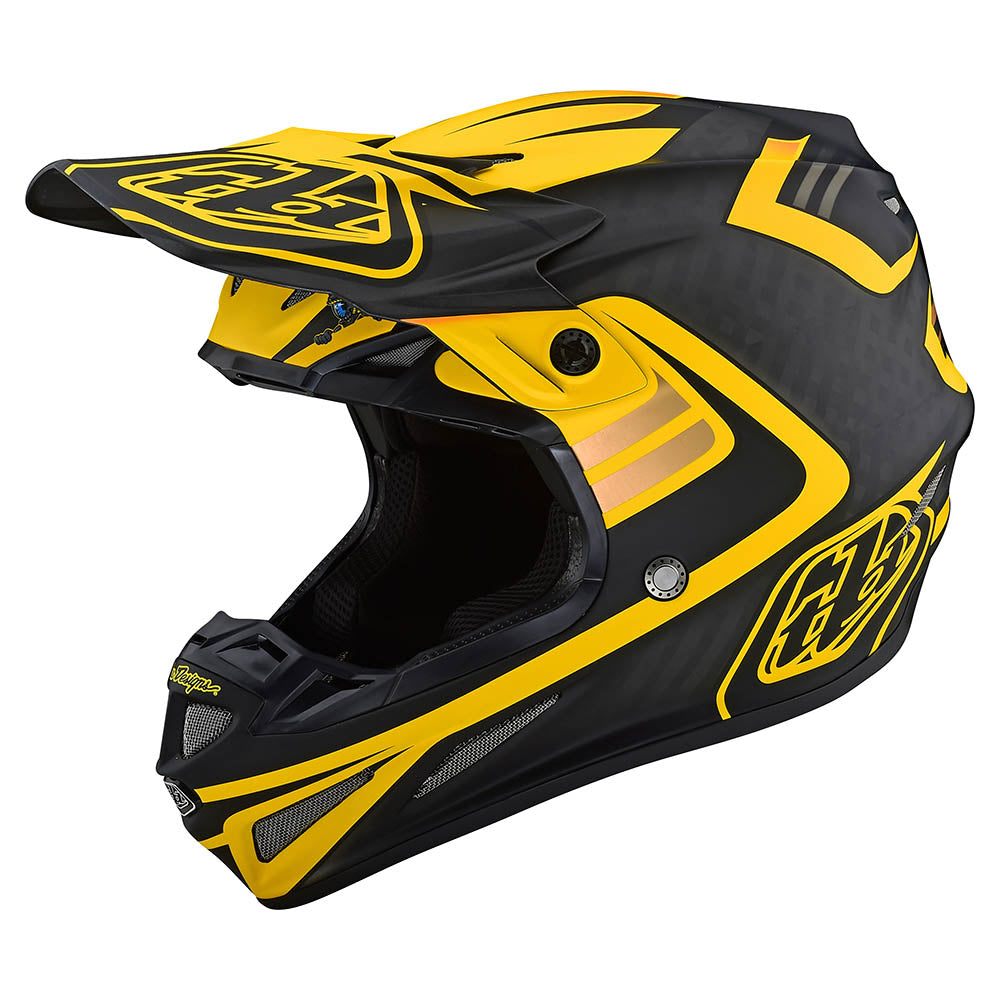 SE4 CARBON HELMET W/MIPS FLASH BLACK / YELLOW