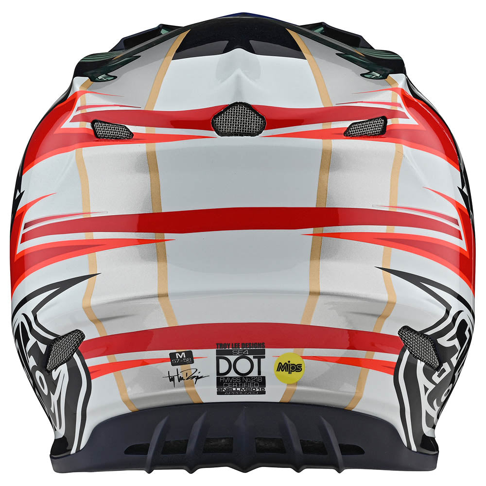 SE4 CARBON HELMET W/MIPS LIBERTY RED / WHITE / BLUE