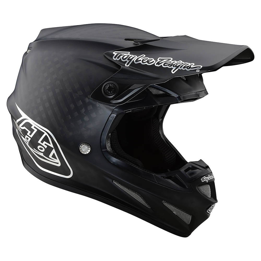 SE4 CARBON HELMET W/MIPS MIDNIGHT BLACK / CHROME