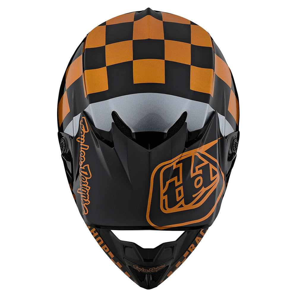 SE4 POLYACRYLITE HELMET W/MIPS CHECKER BLACK / GOLD