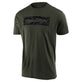 SHORT SLEEVE TEE SIGNATURE BLOCK CAMO SURPLUS GREEN