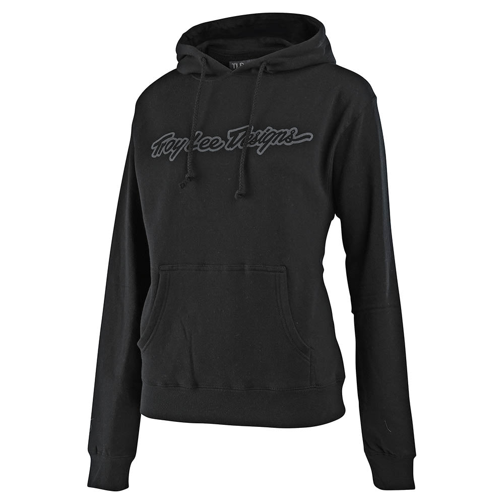 WMNS PULLOVER HOODIE SIGNATURE BLACK
