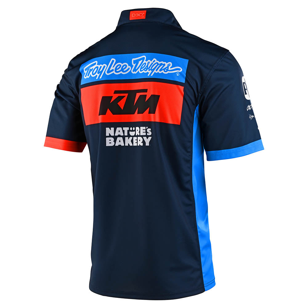 PIT SHIRT 2020 TLD KTM TEAM NAVY