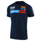 SHORT SLEEVE TEE 2020 TLD KTM TEAM NAVY