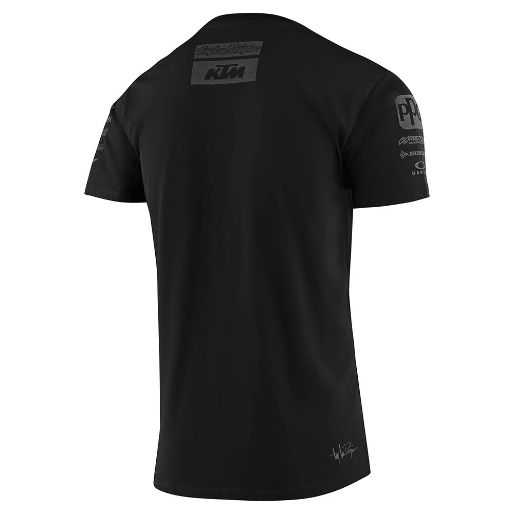 YOUTH SHORT SLEEVE TEE 2020 TLD KTM TEAM BLACK