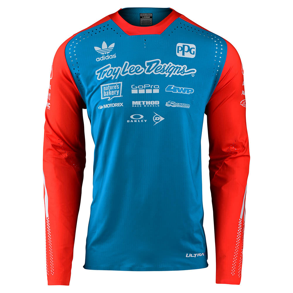 SE ULTRA LIMITED TEAM EDITION L/S JERSEY OCEAN / FLO ORANGE