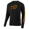 LONG SLEEVE TEE TRACKSIDE BLACK