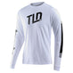 LONG SLEEVE TEE TRACKSIDE WHITE
