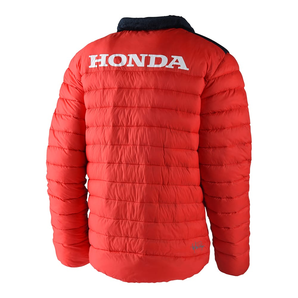 PUFF JACKET HONDA RED