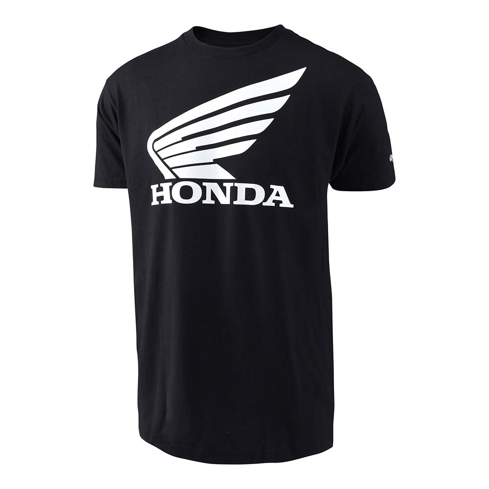SHORT SLEEVE TEE 2017 HONDA WING BLACK